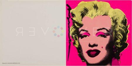 Screenprint Warhol - Marilyn Invitation (Castelli Graphics)
