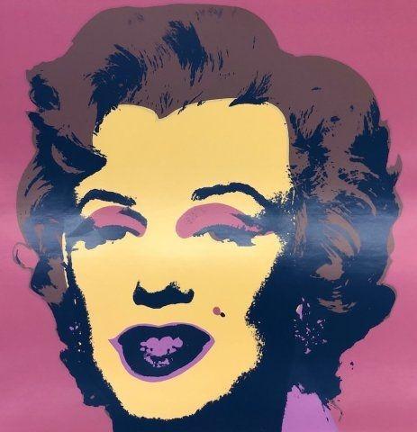 Screenprint Warhol - Marilyn IX