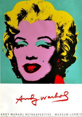 Poster Warhol - Marilyn Monroe