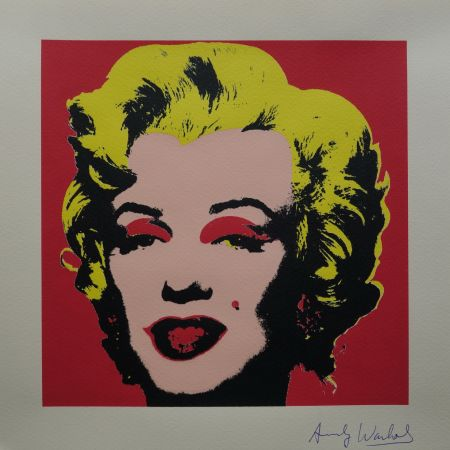 Screenprint Warhol (After) - Marilyn Monroe