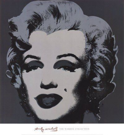 Lithograph Warhol (After) -  Marilyn Monroe - poster