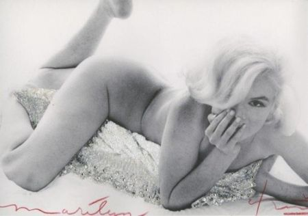 Photography Stern - Marilyn Monroe. Baby Nude