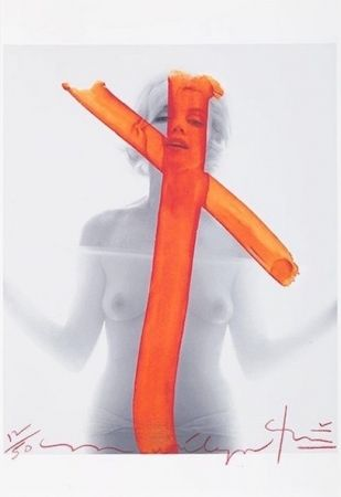 Photography Stern - Marilyn Monroe, Crucifix