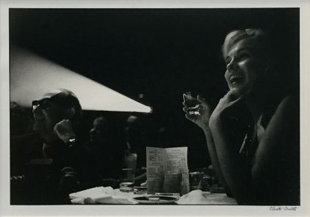 Photography Erwitt - MARILYN MONROE DURING THE FILMING OF