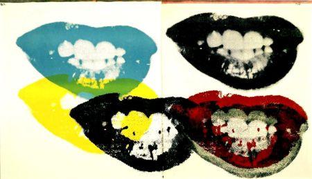 Screenprint Warhol - Marilyn Monroe I Love Your Kiss Forever Forever (FS II.5)