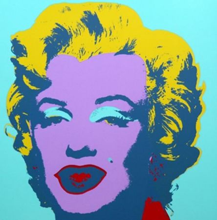 Lithograph Warhol (After) - Marilyn No 23, Sunday B Morning (after Andy Warhol)
