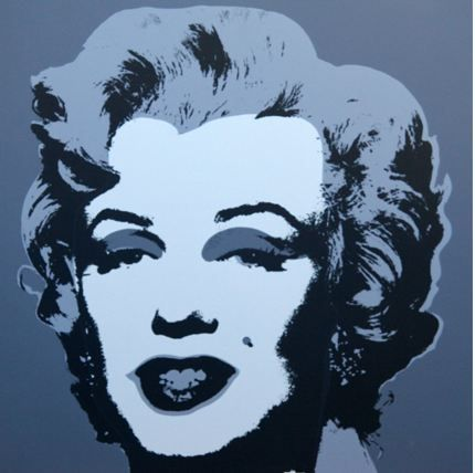 Lithograph Warhol (After) - Marilyn No 24, Sunday B Morning (after Andy Warhol)
