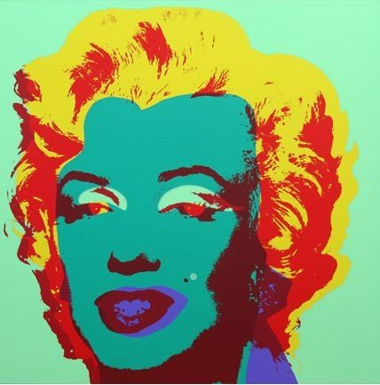 Lithograph Warhol (After) - Marilyn No 25, Sunday B Morning (after Andy Warhol)