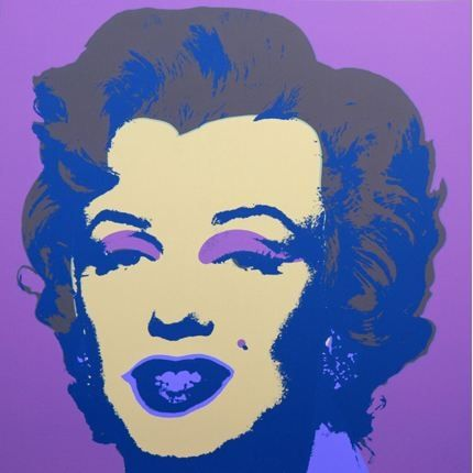 Lithograph Warhol (After) - Marilyn No 27, Sunday B Morning (after Andy Warhol)