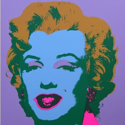 Lithograph Warhol (After) - Marilyn No 28, Sunday B Morning (after Andy Warhol)