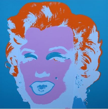Lithograph Warhol (After) - Marilyn No 29, Sunday B Morning (after Andy Warhol)