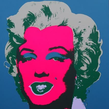 Lithograph Warhol (After) - Marilyn No 30, Sunday B Morning (after Andy Warhol)