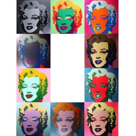 Screenprint Warhol - Marilyn portfolio