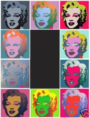 Screenprint Warhol (After) - Marilyn set de 10 sérigraphies