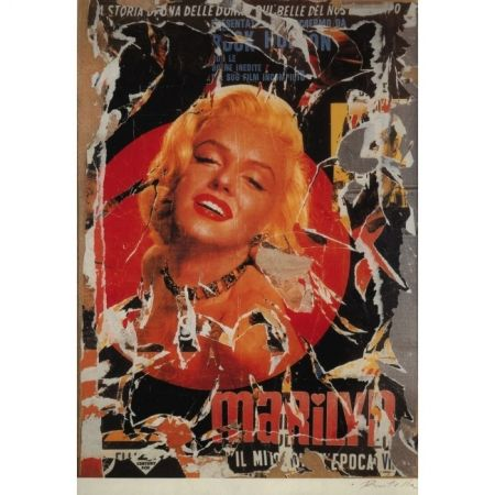 Poster Rotella - Marilyn the Myth