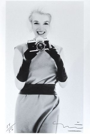 Photography Stern - Marilyn with Nikon