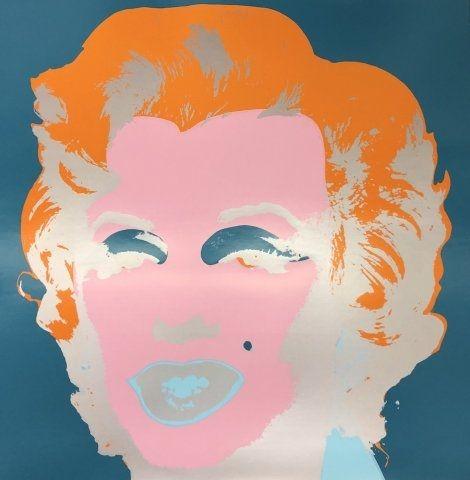 Screenprint Warhol - Marilyn X