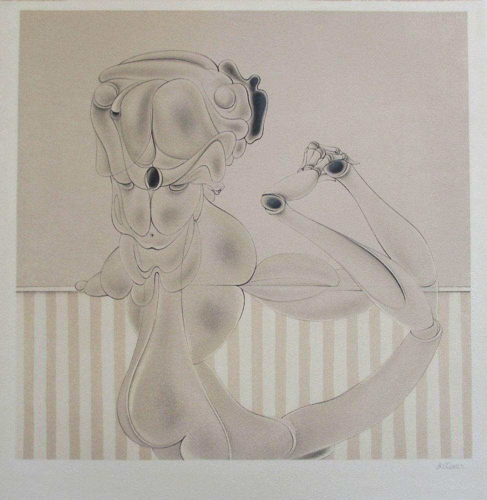 Lithograph Bellmer - Marionnette