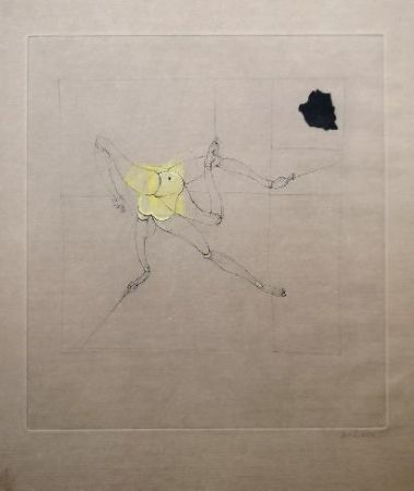 Etching And Aquatint Bellmer - Marionnette 1
