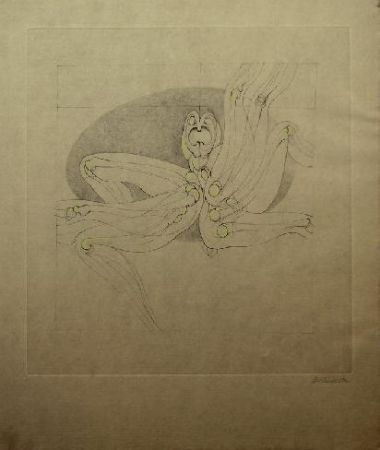 Etching And Aquatint Bellmer - Marionnette 2