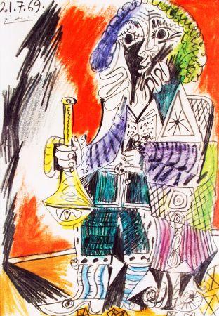 Lithograph Picasso - Marlborough - Saidenberg , New York  Huge