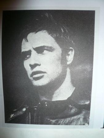 Screenprint Young - Marlon Brando