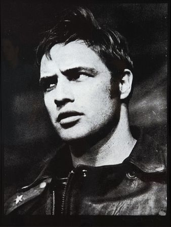 Screenprint Young - Marlon Brando