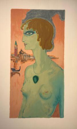 Lithograph Van Dongen - Marqesa Luise Casati