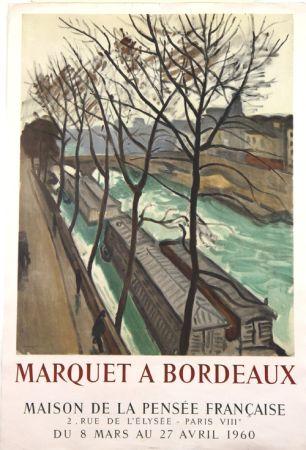 Lithograph Marquet - Marquet à Bordeaux