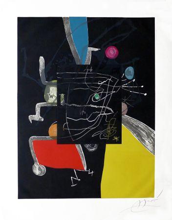 Etching Miró - Martí i Pol