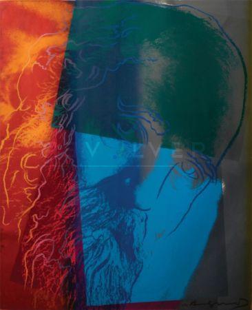 Screenprint Warhol - Martin Buber (FS II.228)