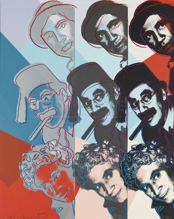 Screenprint Warhol - Marx Brothers (Fs Ii.232)