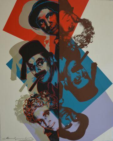 Screenprint Warhol - Marx Brothers (FS II232) Trial Proof
