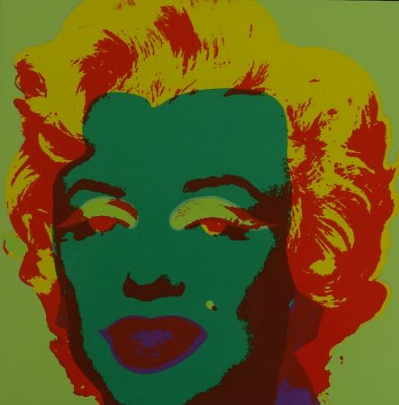 Screenprint Warhol - Marylin monroe