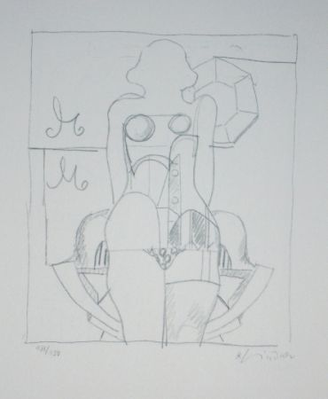 Lithograph Lindner - Marylin was here 6