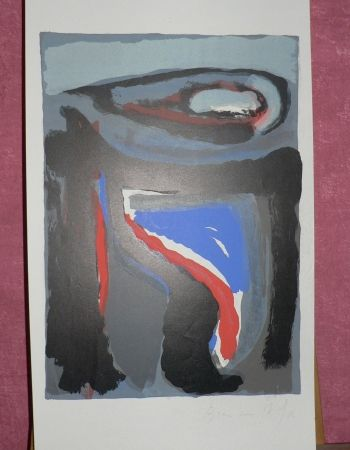 Lithograph Van Velde - Mason - Putman 110