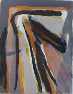 Lithograph Van Velde - Mason, 196