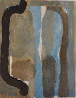 Lithograph Van Velde - Mason, 197