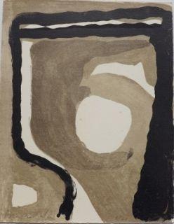 Lithograph Van Velde - Mason, 198