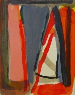 Lithograph Van Velde - Mason, 199