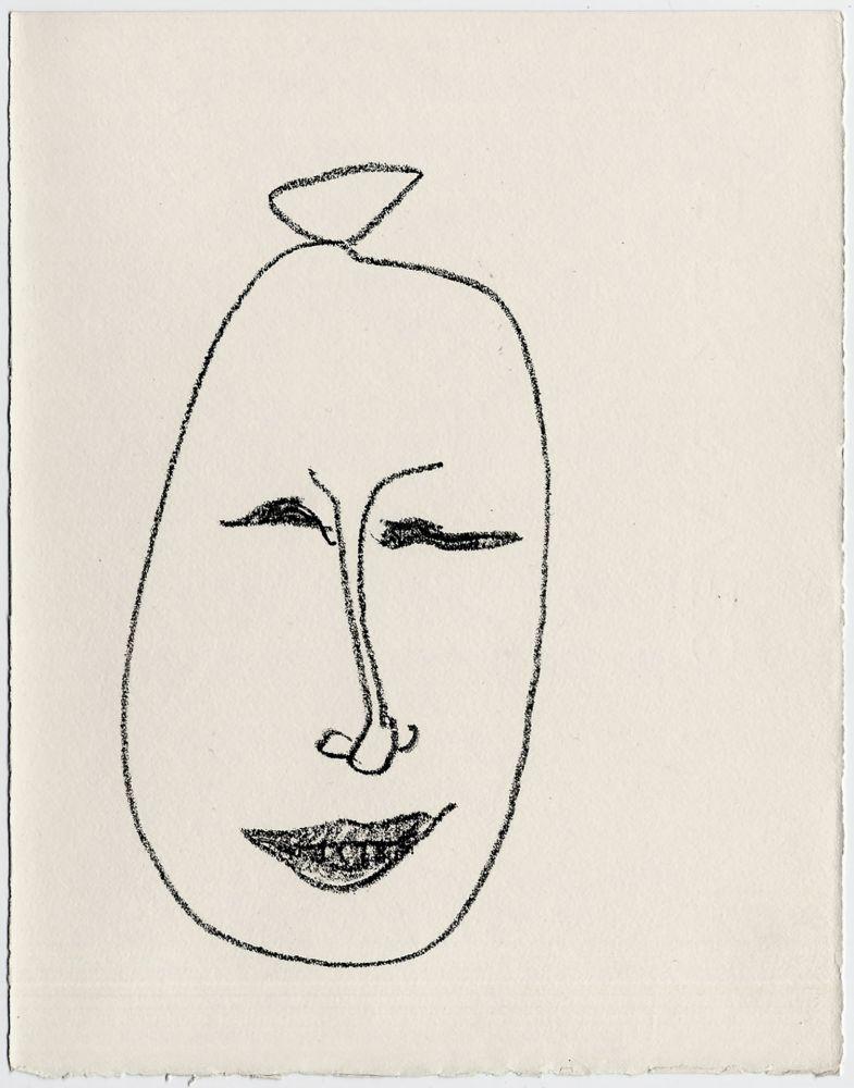 Lithograph Matisse - Masque esquimau n° 9. 1947  (Pour Une Fête en Cimmérie)