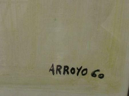Lithograph Arroyo - MATADOR (Detalle de la firma)