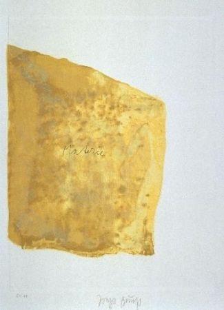 Aquatint Beuys - Materie