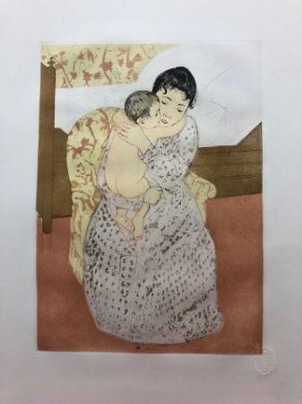 Drypoint Cassatt - Maternité