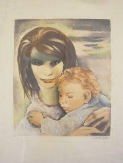 Etching Lydis - Maternité