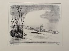 Etching Asselin - Maurice Asselin.  Dix estampes originales.
