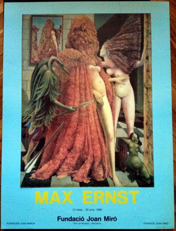 Poster Ernst - Max Ernst Fundació Miró 1986