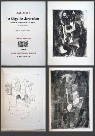 Illustrated Book Picasso - Max Jacob. LE SIÈGE DE JÉRUSALEM. 3 eaux-fortes cubistes de Picasso (1914).