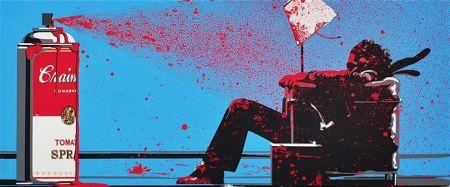 Screenprint Mr. Brainwash - Max Spray