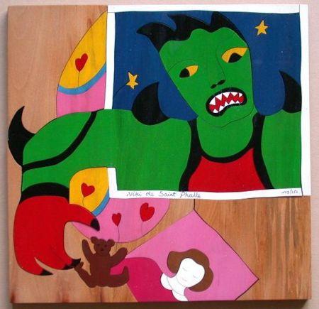 No Technical De Saint Phalle - Mechant Mechant Puzzle